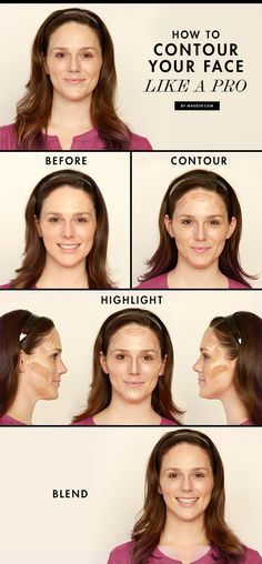 Contouring is not just for Kim Kardahshian. Here's how to contour your face like a professional makeup artist! Use this simple makeup tutorial to guide you.