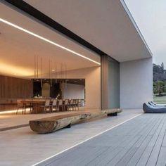 - 58 Stunning Modern Dream House Exterior Design Ideas ⋆ newport-internati… – f - Design Exterior, Home Interior Design, Interior And Exterior, Modern Exterior, Glass House Design, Modern House Design, Modern Architecture House, Architecture Design, Dream House Exterior