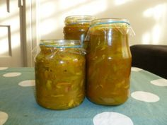Green Bean Chutney, by Ediblethings blog