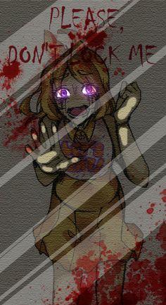 Dont Lock Me!-Chica(Fnaf) by Akari-Kagahime.deviantart.com on @DeviantArt