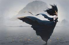 fairy, sungjin kim on ArtStation at https://www.artstation.com/artwork/fairy-810532a6-0b7d-4f5c-beb2-382db267614e