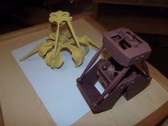 papermodelers.sk • Pristavný žeriav - GANZ /braintech/ 1:25 - autorský model