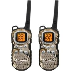 @Overstock.com - Staying in touch is simple with this Motorola camouflage two-way radio pair. These rechargeable two-way radios feature a brown camouflage covering and have a range of 35 miles. This is a great set of radios to take with you when hiking or shopping.http://www.overstock.com/Sports-Toys/Motorola-Talkabout-MS355R-Two-way-Radio/6695587/product.html?CID=214117 $105.99
