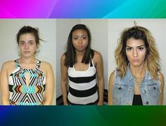 Women arrested for twerking, flashing, peeing in City Hall parking lot, and drugs