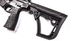 New Daniel Defense AR grip and stock