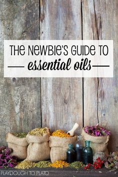 The Newbie's Guide to Essential Oils. What they are and tons of simple ways to use them.