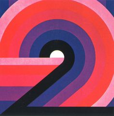 "typeverything:      Typeverything.com  ""2"" by Otto Rieger, 1978.  (via @Michael Newhouse)"