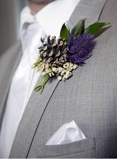 Weddbook is a content discovery engine mostly specialized on wedding concept. You can collect images, videos or articles you discovered  organize them, add your own ideas to your collections and share with other people -  See more about winter weddings, wedding boutonniere and gray suits.