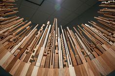 Imagen 4 de 11 de la galería de Arte y Arquitectura: Paisajes Urbanos en Madera por James McNabb. Fotografía de James McNabb