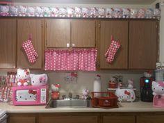 Awesome Hello Kitty kitchen!