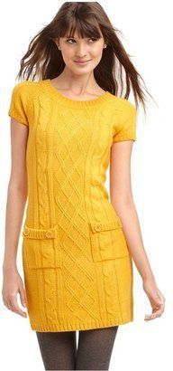 yellow + knitting = count me in!