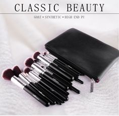 15pcs Professional Makeup Brushes Set With PU Leather Case  => Save up to 60% and Free Shipping => Order Now!  #fashion #product #Bags #diy #homemade