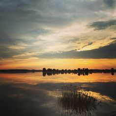 Sunset on the lake #landscapephotograhy