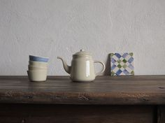 TEA SET : Margarida Fernandes/tea set/kinfolk/Lisbon/Portugal/handmade/hand thrown ceramics/dishes/pottery/neutral/plates/bowls/cups/slow living/rustic/kitchenware/modern farmhouse/European/hello lovely studio