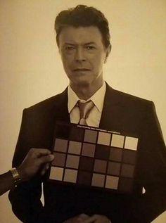 """David Bowie as Cyrus Ogilvie in indie film """"August"""", 2008."""