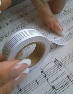 This is such a great tool to have on hand: musician's white out. Easily cover up mistakes or change a piece with the least of effort. We just wish we could find a source for buying it.  #piano #music #teach