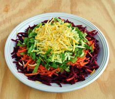 Jamie Oliver Rainbow Salad