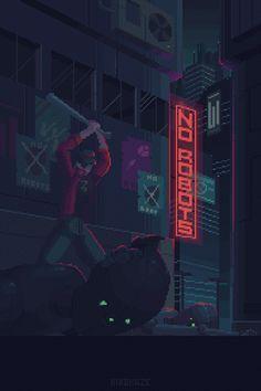 a pixel art piece by me. Vaporwave, Nail Bat, Pixel Art Gif, Arte 8 Bits, Pixel Art Background, Space Opera, 8 Bit Art, Animated Gifs, Pix Art