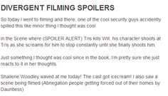 Film Spoiler! Btw it was not me! i am just repining the really cool fact I like it better this way!