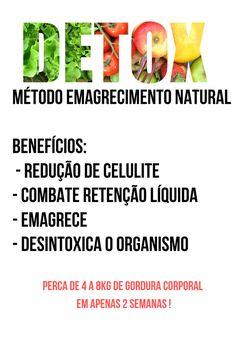 050e7e9f5 A Dieta Detox de 14 Dias é um Método Emagrecimento Natural para VOCÊ Perder  de 4 a de Gordura Corporal em Apenas 2 Semanas. Desintoxicando o Organismo  e ...