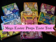 Mega Easter Peeps Taste Test Inlcuding Three Mystery Flavors