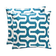 I pinned this Elisabeth Pillow in Blue (Set of 2) from the Elisabeth Michael event at Joss and Main!