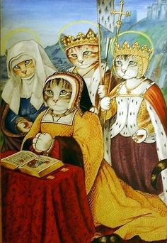 Jean Bourdichon, The 'grandes Heures' of Anne of Brittany, Queen of France, 1500