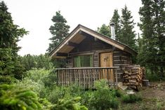 """Entire home/apt in Whitehorse, Canada. Sky High Wilderness is an """"off the grid"""" Ranch - NO electricity,NO wifi and limited cell service. We have wood heated cabins, propane lights, outdo..."""