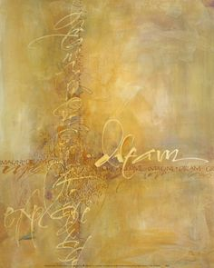 Abstract Canvas Pictures, Prints, Paintings & Wall Art for Sale Framed Canvas Prints, Framed Artwork, Canvas Frame, Art Prints, Just Dream, Dream Art, Letter Art, Letters, Calligraphy Art