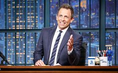 Seth Meyers to do live show after first presidential debate