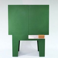 Cabinet with a chalkboard surface by Peter Jakubik