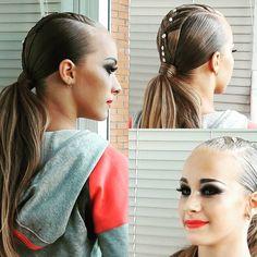 Наше турнирное утро #прически #макияж #бальныетанцы #ballroom #dancesport #dances #latina #stylist #makeupartist #StudioAnastasiaEremeeva #doughter #доча