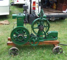Lister petrol powered water pump