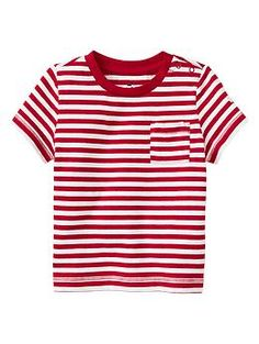 Stripe pocket T | Gap
