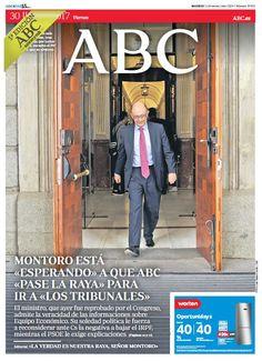 La portada de ABC del jueves 30 de junio
