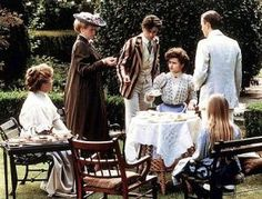 """""""A Room with a View"""" - Maggie Smith, Rupert Graves, Helena Bonham Carter, Daniel Day-Lewis"""