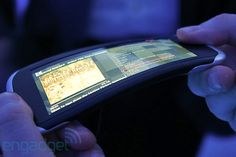 Nokia's kinetic future: flexible screens and a twisted interface. Seems very promising. Millions of opportunities with flexible screens.
