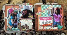 Fabulous Mini Album/Simple Sighting from Scrappy Gourmet