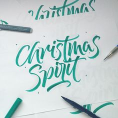 313/365 Christmas spirit  Fancied using the brush pens tonight as its been a while. Anyway anyone else in that Christmas spirit mood? I wish I was! for some reason it doesn't feel like Christmas is a couple of weeks away. I will admit I use to love having the excitement for xmas but this year it feels as though it's just another day   Ignore my late night ramblings but I hope everyone is looking forward to tomorrow as its Friday!  by ligatures