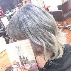 メニュー:ホワイト・トリプルカラー(18000) 所要時間:6h #Hanaカラー #ブリーチ #ホワイトブリーチ #派手髪 #ヘアカラー #haircolor #カラフル #colorfulhair #デザインカラー #designcolor #ヘアスタイル #hairstyle #マニックパニック #manicpanic #エンシェールズ #ロコル #ロイド #グラデーションカラー #gradationcolor #インナーカラー #innercolor Hair Color, Hair Styles, Haircolor, Hair Color Changer, Hairdos, Hair Dye, Hairstyles, Human Hair Color, Style Hair