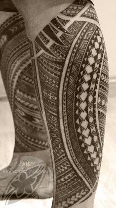 Samoan tattoo - Michael Fatutoa
