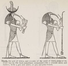 "Thoth's other names include Djehuty, Jehuti, Tahuti, Tehuti, Zehuti, Techu, or Tetu, Lord of the Khemenu. One of Thoth's titles, ""Three times great, great"" was translated to the Greek (Trismegistos) making Hermes Trismegistus."