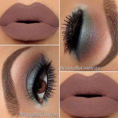 Flawless cc: MUA @beautybycassie93 #iluvyourhair #ilyh #beat #mua #beautiful…