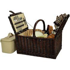 Buckingham Picnic Basket For Four