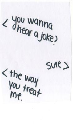 wanna hear a joke . . .