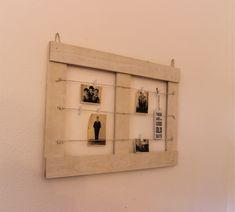 Pinnwände -  Memoboard Vintage 70x50 - ein Designerstück von Pfaennle bei DaWanda Memo Boards, Wooden Clogs, Old Wood, Bathroom Medicine Cabinet, Floating Shelves, Vintage, Etsy, Home Decor, Postcards