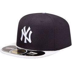 600b5536100 New York Yankees New Era On Field Diamond Era 59FIFTY Fitted Hat -  Navy White