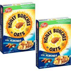 En CVS puedes conseguir el cereal Post Honey Bunches of Oats de 12.5-14.5 oz a $1.99 en especial hasta el 1/21. Compra (2) y utiliza (1) ...