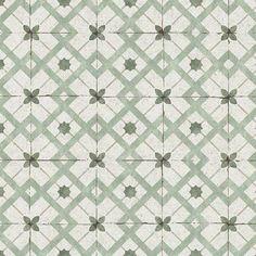Erismann Wallpaper | Vintage Tile Sage Green | 6366-07 – WonderWall by Nobletts