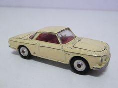 CORGI TOYS VW 1500 KARMAN GHIA, WITH LUGGAGE, FREE SHIPPING AUSTRALIA WIDE